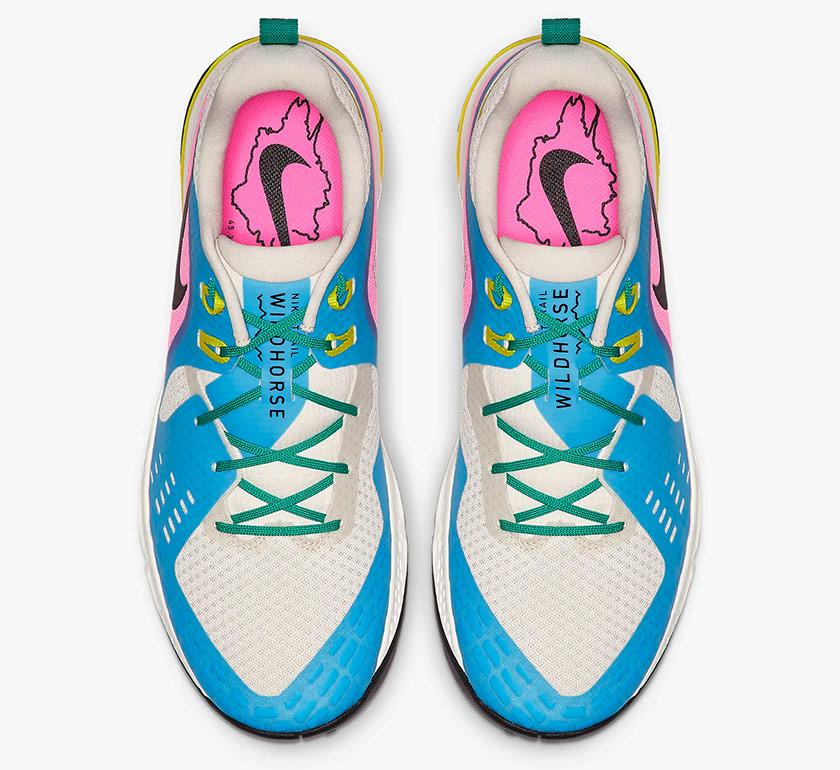 Nike Air Zoom Wildhorse 5, upper