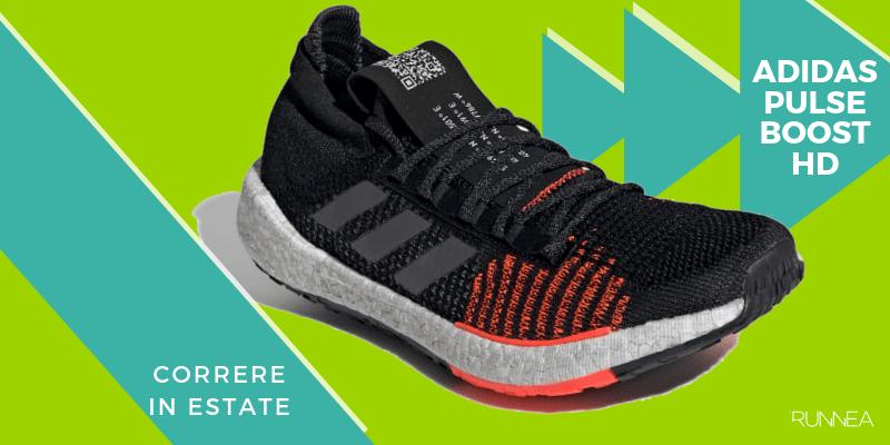 Le 8 migliori scarpe da running per correre in estate, Adidas Pulseboost HD