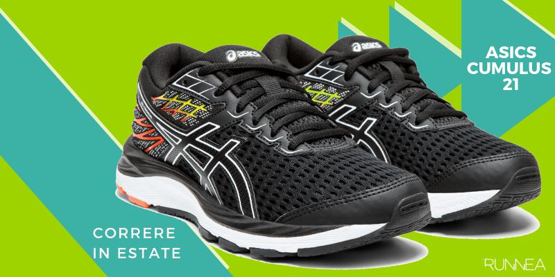 Le 8 migliori scarpe da running per correre in estate, ASICS Gel Cumulus 21