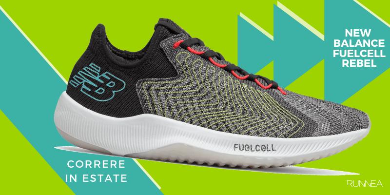 Le 8 migliori scarpe da running per correre in estate, New Balance FuelCell Rebel