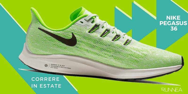 Le 8 migliori scarpe da running per correre in estate, Nike Pegasus 36