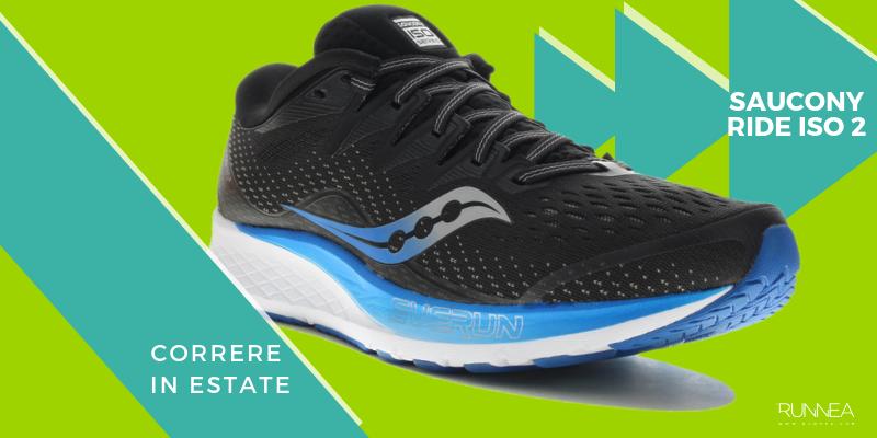 Le 8 migliori scarpe da running per correre in estate, Saucony Ride ISO 2