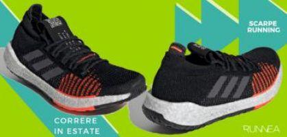 Le 8 migliori scarpe da running per correre in estate