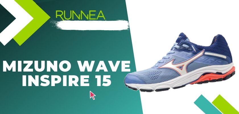 Le migliori scarpe running Mizuno da donna 2019, Mizuno Wave Inspire 15