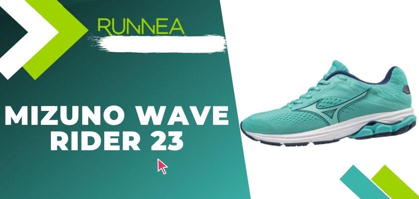 Le migliori scarpe running Mizuno da donna 2019, Mizuno Wave Rider 23