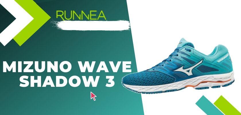 Le migliori scarpe running Mizuno da donna 2019, Mizuno Wave Shadow 3