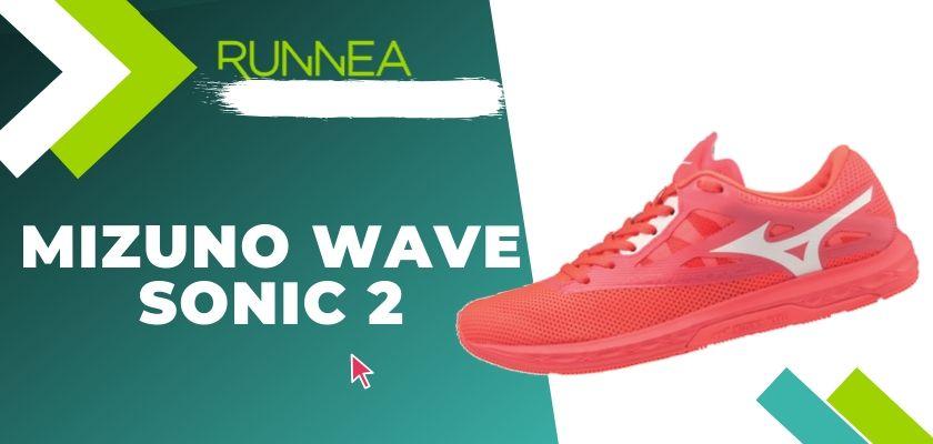 Le migliori scarpe running Mizuno da donna 2019, Mizuno Wave Sonic 2