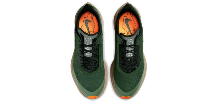 Nike Zoom Pegasus 36 Trail GORE-TEX, tomaia