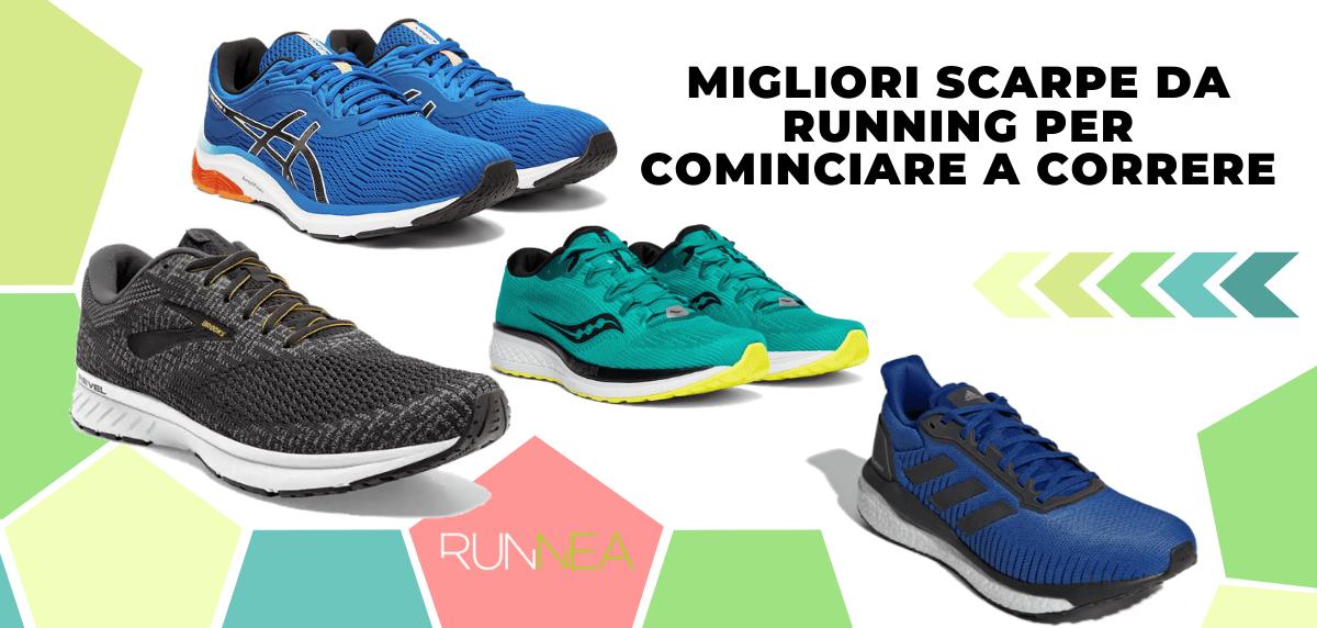 Migliori scarpe da running per cominciare a correre