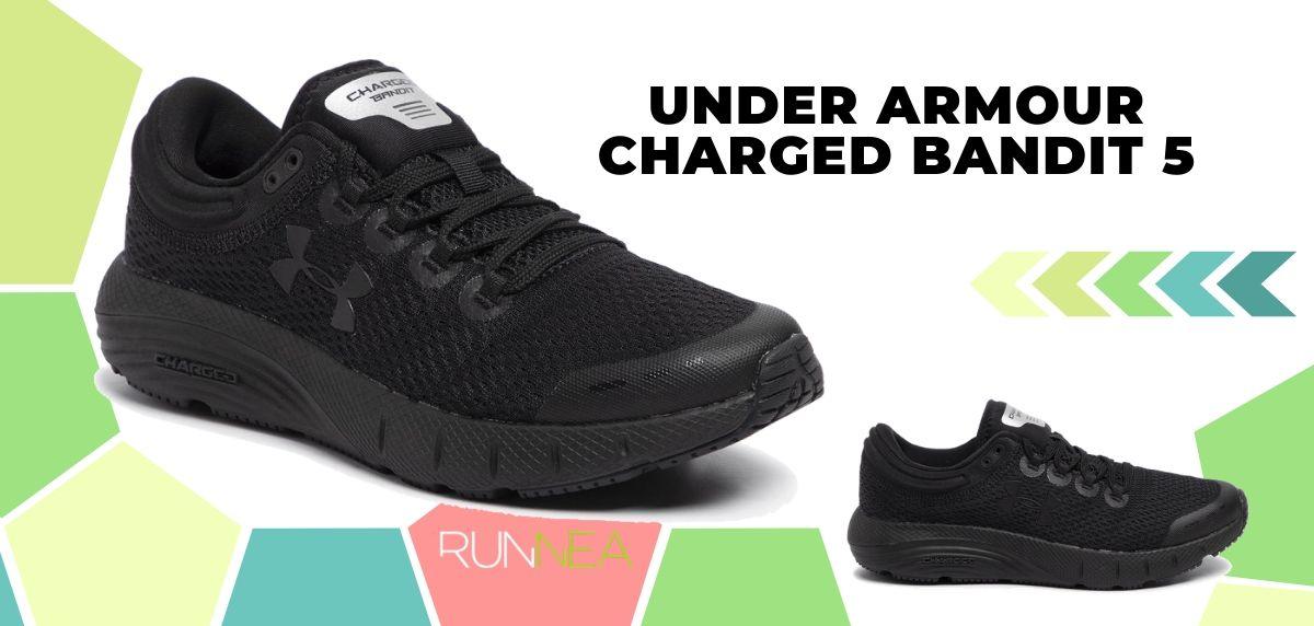 Migliori scarpe da running per cominciare a correre, Under Armour Charged Bandit 5
