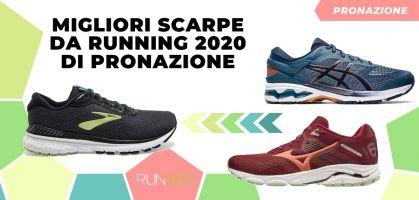 Migliori scarpe da running 2020 di pronazione
