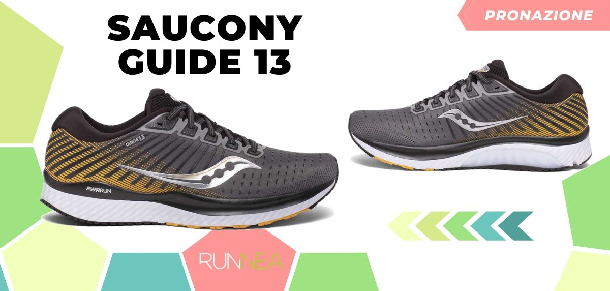 Migliori scarpe da running 2020 di pronazione, Saucony Guide 13