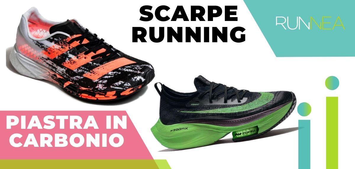 Le migliori scarpe da running con piastra in carbonio