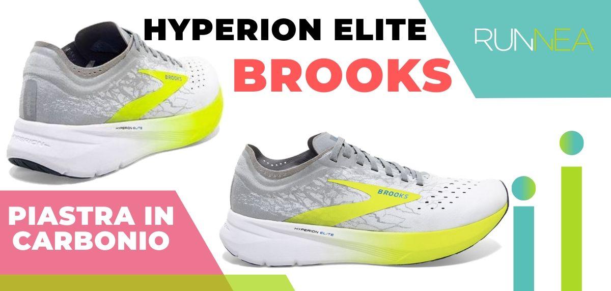Le migliori scarpe da running con piastra in carbonio, Brooks Hyperion Elite