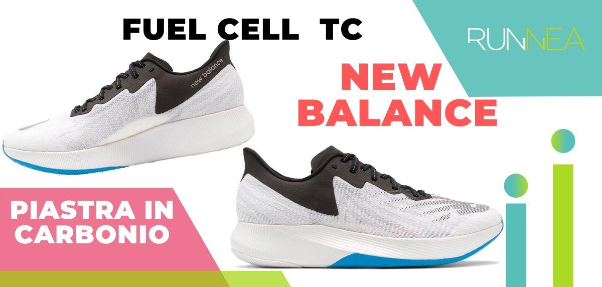Le migliori scarpe da running con piastra in carbonio, New Balance Fuel Cell TC
