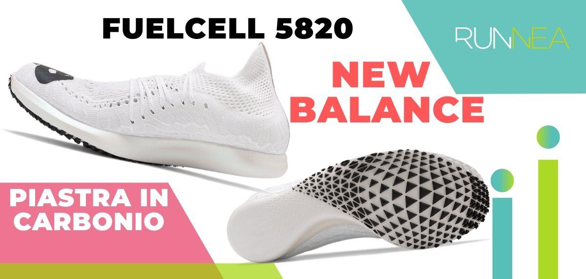 Le migliori scarpe da running con piastra in carbonio, New Balance FuelCell 5820