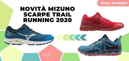 Novità di Mizuno per il trail running 2020