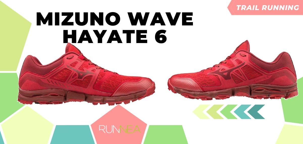 Novità di Mizuno per il trail running 2020, Wave Hayate 6