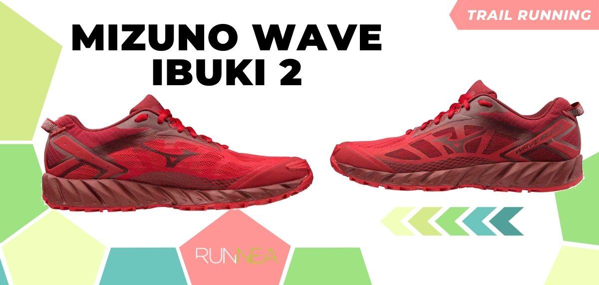 Novità di Mizuno per il trail running 2020, Wave Ibuki 2