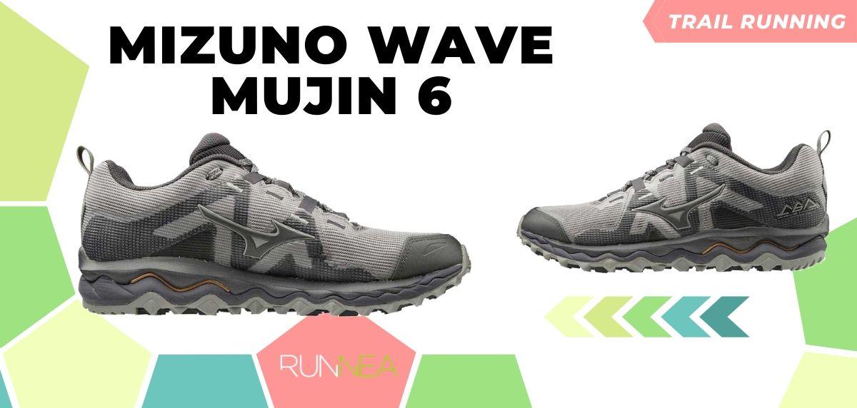 Novità di Mizuno per il trail running 2020, Wave Mujin 6