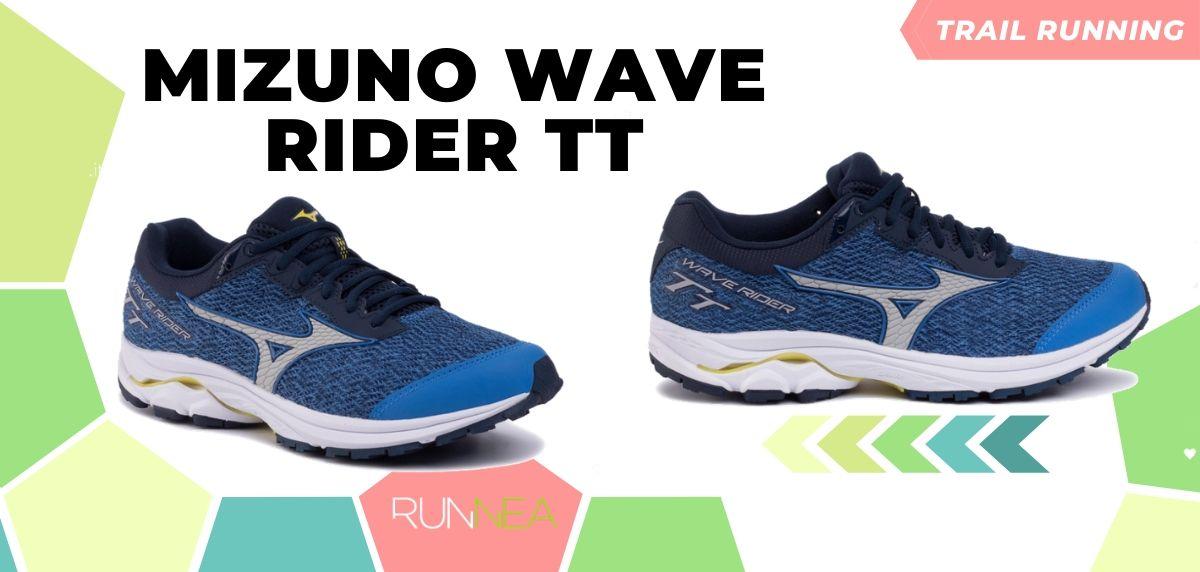 Novità di Mizuno per il trail running 2020, Wave Rider TT