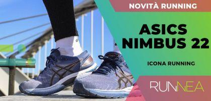 ASICS Nimbus 22: modello iconico per il running