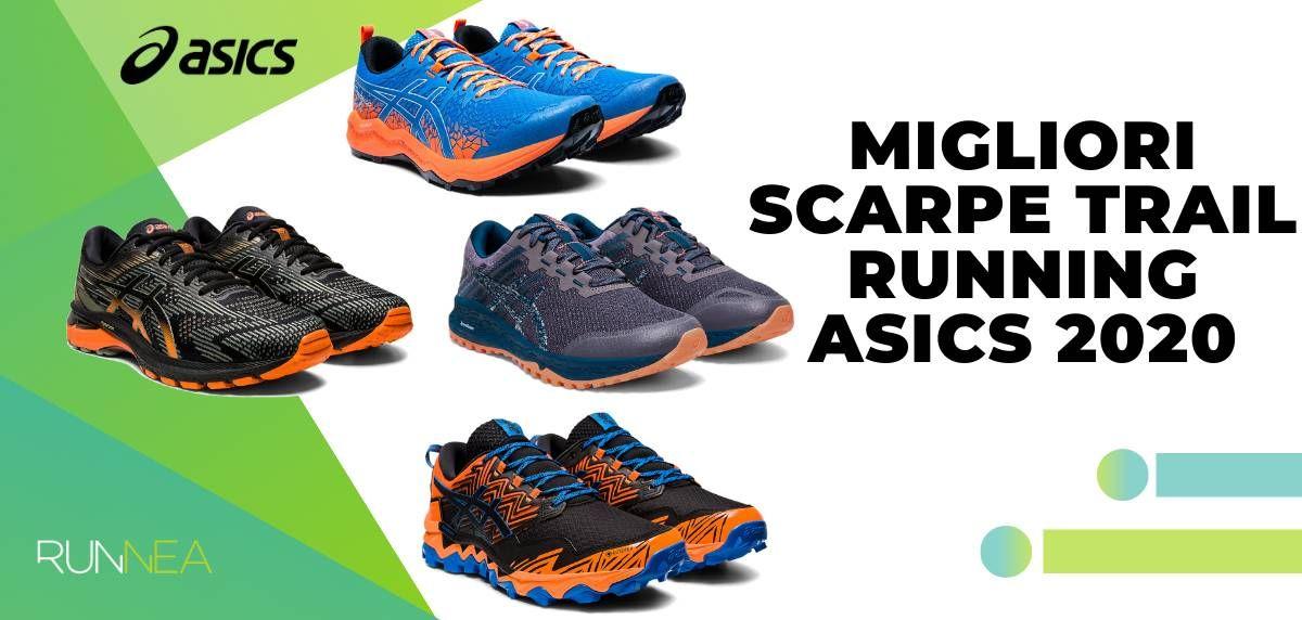 scarpe da trail running asics