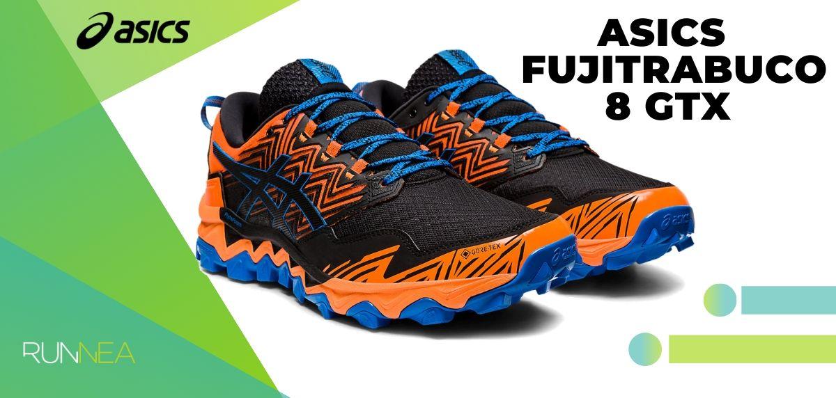Le migliori scarpe da trail running di Asics per questo 2020, Gel Fujitrabuco 8 GTX