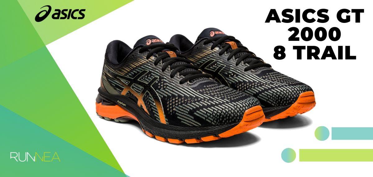 Le migliori scarpe da trail running di Asics per questo 2020, GT 2000 8 Trail
