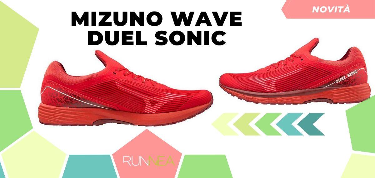Mizuno: tutte le novità delle scarpe da corsa 2020, Wave Duel Sonic