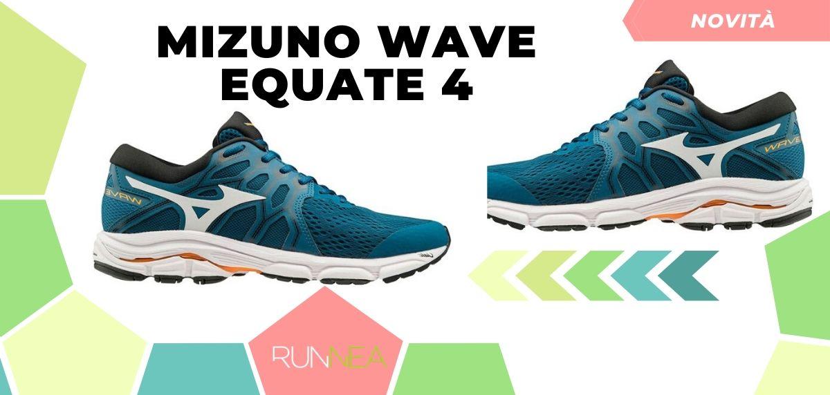 Mizuno: tutte le novità delle scarpe da corsa 2020, Wave Equate 4