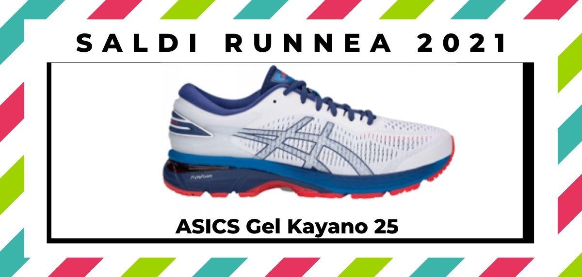 Saldi 2021: offerte delle migliori marche e negozi running, ASICS Gel Kayano 25