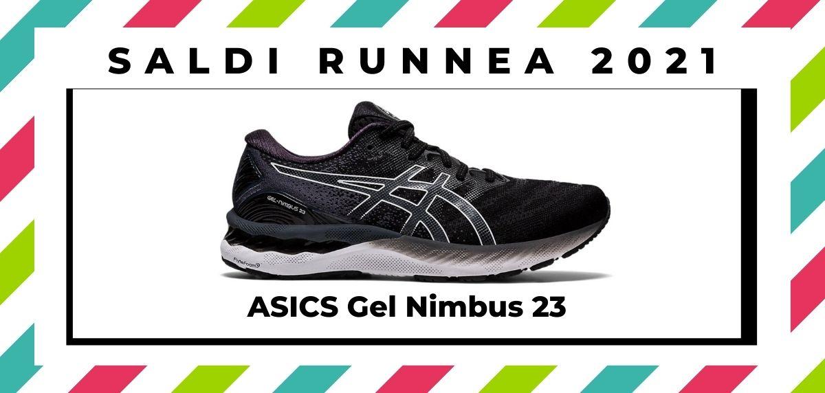 Saldi 2021: offerte delle migliori marche e negozi running, ASICS Gel Nimbus 23