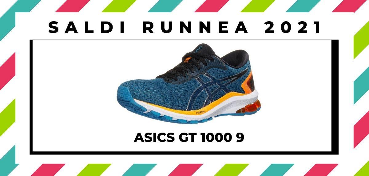 Saldi 2021: offerte delle migliori marche e negozi running, ASICS GT 1000 9