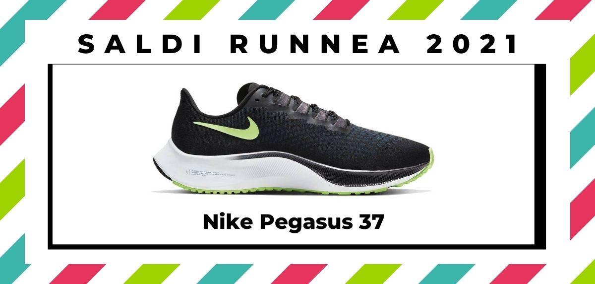 Saldi 2021: offerte delle migliori marche e negozi running, Nike Pegasus 37