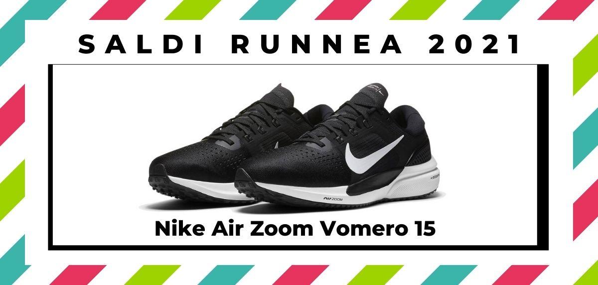 Saldi 2021: offerte delle migliori marche e negozi running, Nike Air Zoom Vomero 15