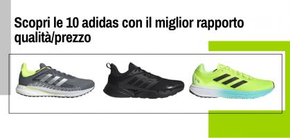 Scopri le 10 scarpe running adidas con il miglior rapporto qualità/prezzo