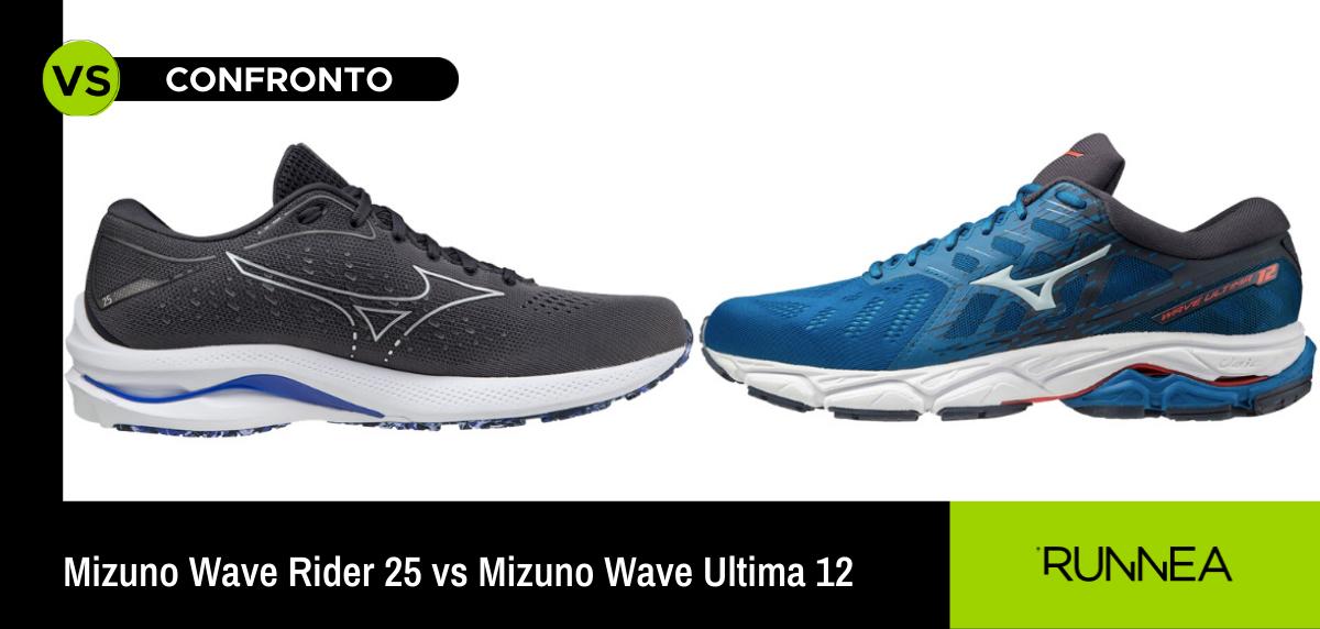 Mizuno Wave Rider 25 vs Mizuno Wave Ultima 12, tu da che parte sei?