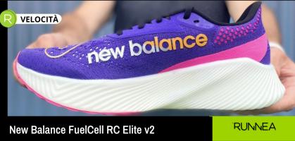 Velocità e comodità? Sì, è possibile con le nuove New Balance FuelCell RC Elite v2!
