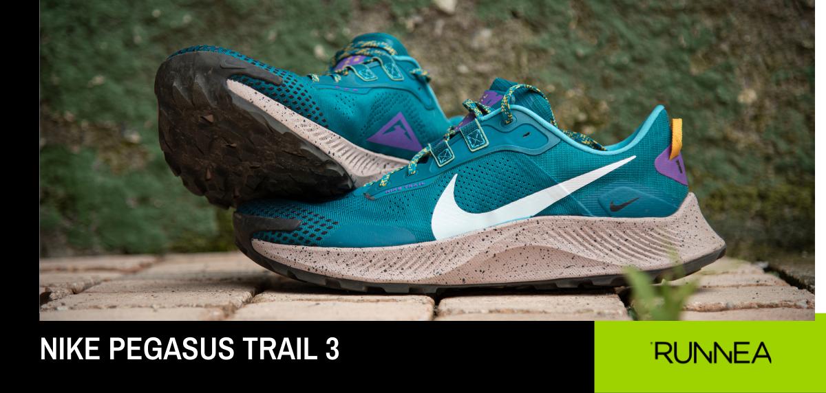 Unisci sport e stile con la Nike Pegasus Trail 3