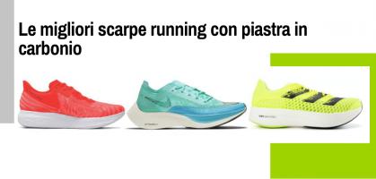 Le migliori scarpe running con piastra in carbonio