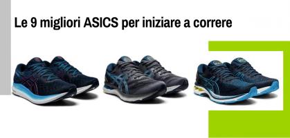 Le 9 migliori scarpe ASICS per iniziare a correre