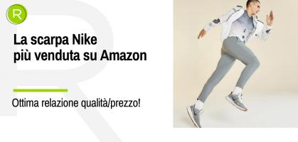 Questa scarpa running ha oltre 16.000 recensioni su Amazon ed è di Nike.