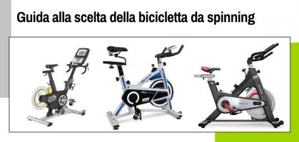 Guida alla scelta della bicicletta da spinning